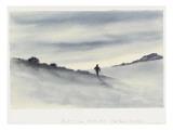 Sunset, 7Pm, March 30.11, Hut Point, Ski Slope, 1911 Premium Giclee Print by Edward Adrian Wilson