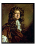 Portrait of a Gentleman in Brown Cloak and White Jabot Giclee Print by William Wissing
