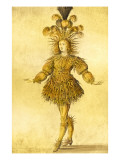 King Louis Xiv of France in the Costume of the Sun King in the Ballet 'La Nuit', 1653 Giclee Print by  French School