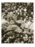 The Funeral of Venustiano Carranza in Mexico City, 24th May 1920 Giclee Print