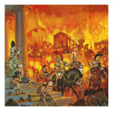 Alexander the Great Suppressing a Rebellion in Greece Giclee Print by  Mcbride