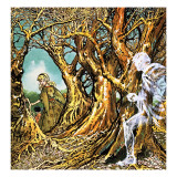 Ghost in the Forest, from the Story of the Dancing Princess, 1959 Giclee Print by Jesus Blasco