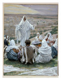 Pater Noster - the Lord's Prayer, Illustration for 'The Life of Christ', C.1886-94 Giclee Print by James Jacques Joseph Tissot