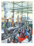 The Age of Great Beginnings - the Victorian Age Giclee Print by Ron Embleton