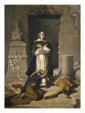 Friar Bartolome De Las Casas Defender of the Indians Giclee Print by Felix Parra