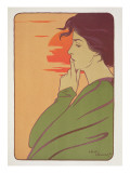 The Hour of Silence, 1897, from 'L'Estampe Moderne', Published Paris 1897-99 Giclee Print by  Meunier