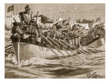 Departure of the British Troops from Alexandria, 1807 Giclee Print by William Barnes Wollen