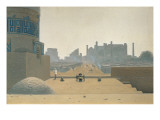Main Street in Samarkand, Early Morning, 1869-70 Gicl&#233;e-Druck von Vasilij Vereshchagin