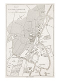 Plan of the City of Lucknow, from 'Cassell's Illustrated History of England' Giclee Print by  English School