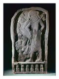 Stela Depicting a Ball Player, from Guatemala, Classic Period, 600-950 Giclee Print by  Mayan