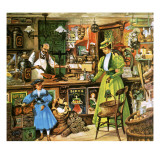 Life with the Victorians: a Nation of Shopkeepers Giclee Print by Peter Jackson