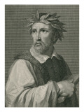 Torquato Tasso from 'The Gallery of Portraits', Published 1833 Giclee Print by English School