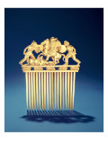 Front of a Scythian Comb, from Solokha Burial Mound, Steppe Giclee Print by Scythian