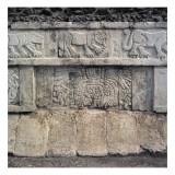 Detail of Decoration in the Nunnery Quadrangle, Mayan, Late Classic Period C.700-900 Giclee Print