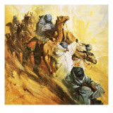 Rosita Forbes Setting Out Fo Find the Semi-Mythical Fortress of Kufra Giclee Print by McConnell