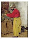 Henri De Toulouse-Lautrec at Villeneuve Sur Yonne, 1898 Giclee Print by Edouard Vuillard