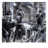 The Execution of King Charles I in Whitehall, 30th January 1649, 1979 Giclee Print by Andrew Howat