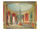 The Saloon in its Final Phase from Views of the Royal Pavilion, Brighton by John Nash, 1826 Giclee Print by John Nash