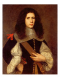 Portrait of a Young Gentleman in a Black Slashed Doublet Giclee Print by Carlo Ceresa