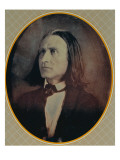 Reproduction of a Daguerrotype of Franz Liszt Giclee Print by  Hungarian School