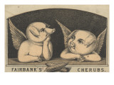 Fairbank's Cherubs', Advertisement for Fairbank Lard, C.1880 Reproduction procédé giclée par American School