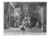Hudibras Catechiz'D, Plate Iv, from 'Hudibras' by Samuel Butler, 1726 Giclee Print by William Hogarth