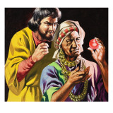 Menace of the Cannibals, from 'The Travels of Marco Polo', 1964 Giclee Print by Ron Embleton