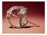 The Kilmainham Brooch, from Kilmainham, County Dublin, 8th-9th Century Giclee Print by  Celtic