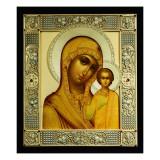 Icon of the Virgin Kazanskaya, Moscow, 1908-17 Giclee Print by Dmitrii Smirnov