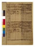Passio Domini Nostri J.C. Secundum Evangelistam Matthaeum Bwv 244, 1730S Giclee Print by Johann Sebastian Bach