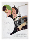 Advertisement for Solex Carburettors, from &#39;Vogue&#39; Magazine, January, 1932 Gicl&#233;e-Druck von Rene Vincent