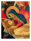 Deposition from the Cross, Detail of the Virgin Mary, 1436 Giclee Print by Fra Angelico