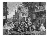 The Election Ii: Canvassing for Votes, Engraved by Charles Grignion Premium Giclee Print by William Hogarth