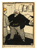 A Business Man and His Client, from 'Crimes and Punishments', Special Edition Giclee Print by Félix Vallotton