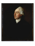 Portrait of the Rev. Humphrey Gainsborough in a Black Coat and White Cravat Giclee Print by Thomas Gainsborough