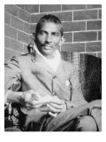 Gandhi Photographed in Johannesburg, Following His Release from Prison, 1908 Reproduction procédé giclée