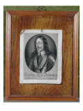 Trompe L'Oeil Still Life of a Print of Charles I Lmina gicle por Evert Collier