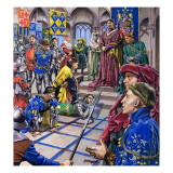 The Men Who Ruled Burgundy, from 'Dynasties of Destiny' Giclee Print by  Payne