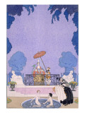 Illustration from a Book of Fairy Tales, 1920S Giclee Print by Georges Barbier