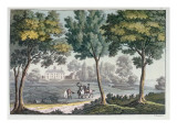 Mount Vernon, Virginia, Home of George Washington, C.1820 Giclee Print by Paolo Fumagalli