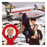 Air Crash in Which the Manchester United Team Was Killed Giclee Print by John Keay