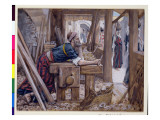 The Anxiety of St. Joseph, Illustration for 'The Life of Christ', C.1886-94 Premium Giclee Print by James Tissot