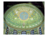 The Cupola with a Mosaic Depicting St. Apollinare Giclee Print