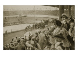 The Finish of the Marathon Race, the Olympic Games, 1908 Giclee Print by Samuel Begg