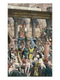 Let Him Be Crucified&#39;, Illustration for &#39;The Life of Christ&#39;, C.1886-96 Giclee Print by James Jacques Joseph Tissot
