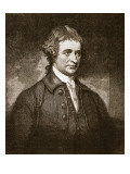 Edmund Burke, Illustration from 'Cassell's Illustrated History of England' Giclee Print by  Romney