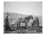 Native American Cree People of Western Canada, C.1890 Giclee Print by  American Photographer
