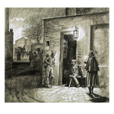 The Escape of Louis Xvi and Marie Antoinette Giclee Print by Gerry Embleton