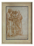 Saints Peter, Paul, John the Evangelist and Zeno Giclee Print by Andrea Mantegna