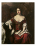 Portrait of Anne, Queen of Great Britain and Ireland Premium Giclee Print by William Wissing